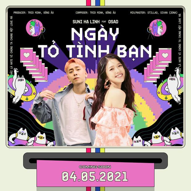 Suni Hạ Linh và OSAD hé lộ điệp khúc gây nghiện trong teaser Ngày Tỏ Tình Bạn, Gen Z sắp có câu hát viral mới rồi?