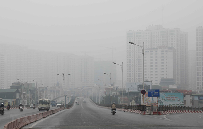 Rấtítđiểmở Bắc Bộ và Trung Bộ không khí không tốt cho sức khỏe