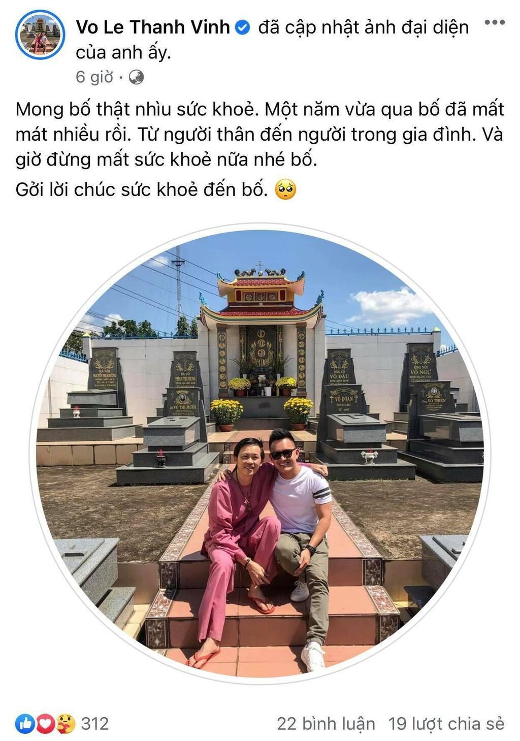 Con trai ruột Hoài Linh gửi lời động viên bố giữa ồn ào tiền từ thiện