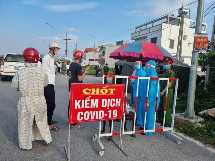 Hưng Yên có thêm 2 ca dương tính với SARS-CoV-2 tại Khoái Châu