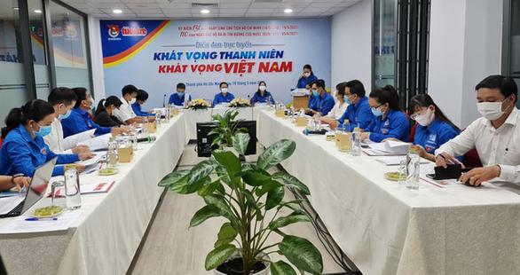 Diễn đàn trực tuyến 'Khát vọng thanh niên – khát vọng Việt Nam'
