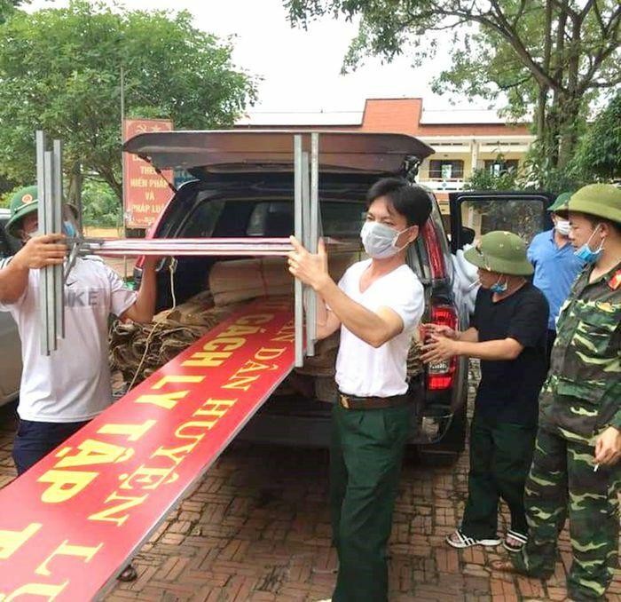 Bộ CHQS tỉnh: Duy trì nghiêm quân số, sẵn sàng phòng, chống dịch