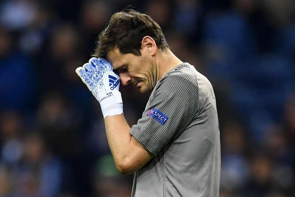 Casillas lại vào viện vì đau tim