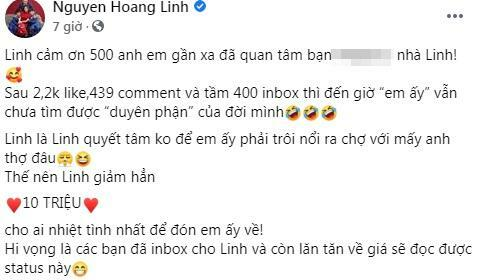 MC Hoàng Linh đại hạ giá, quyết bán tài sản chung với Mạnh Hùng