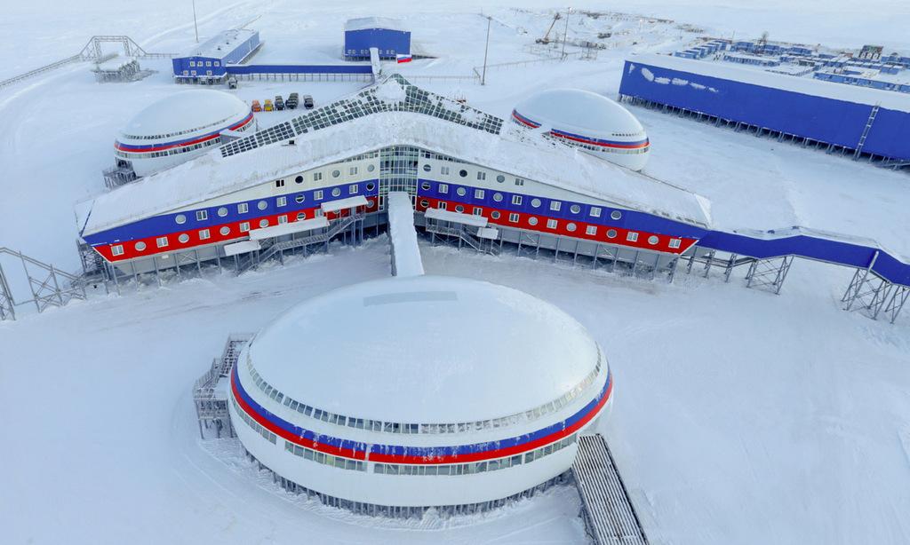 Căn cứ 'Cỏ ba lá' giúp Nga trấn giữ Bắc Cực