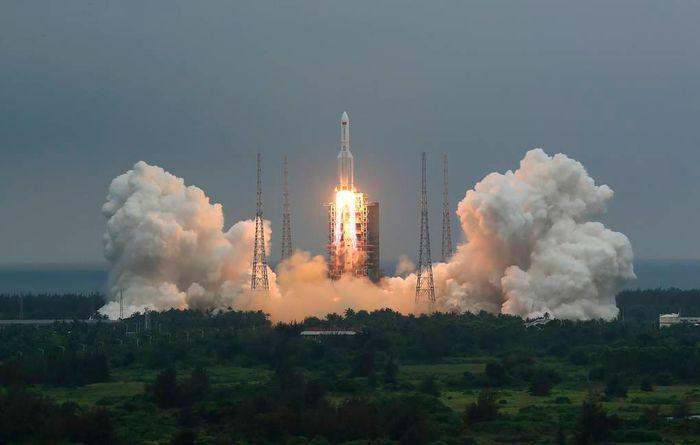 Tên lửa Trung Quốc có thể đi vào khí quyển trên Thái Bình Dương vào ngày 9/5