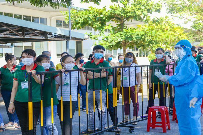 6.500 công nhân ở An Đồn được lấy mẫu xét nghiệm nCoV