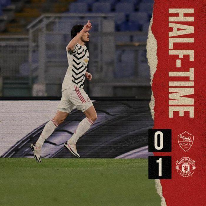 AS Roma 1-1 MU: Dzeko xé lưới De Gea (H2)
