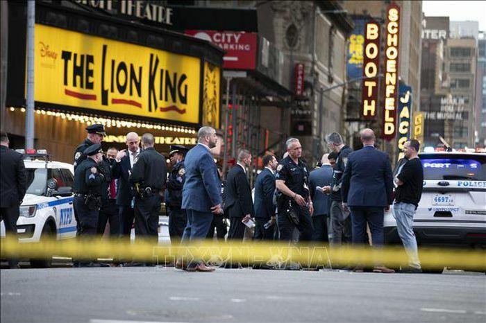 Ba người bị thương trong vụ xả súng ở New York, Mỹ