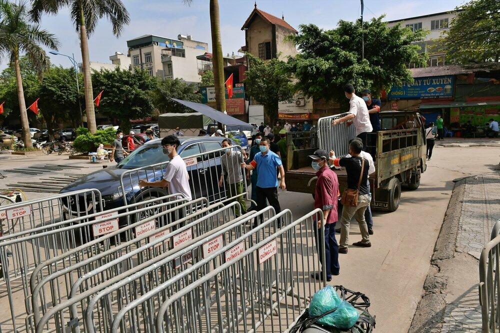 Hải Dương: Phong tỏa 4 hộ gia đình liên quan đến nữ công nhân mắc Covid-19 tại TP Chí Linh