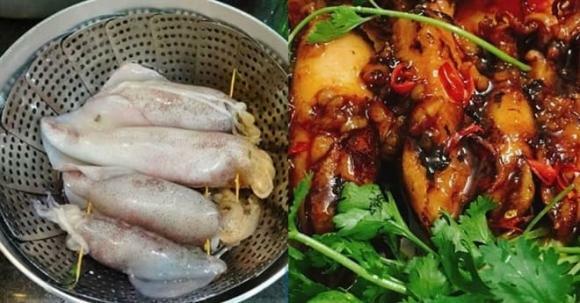 Mực chiên mắm tỏi: Món ngon cho bữa ăn thêm hấp dẫn