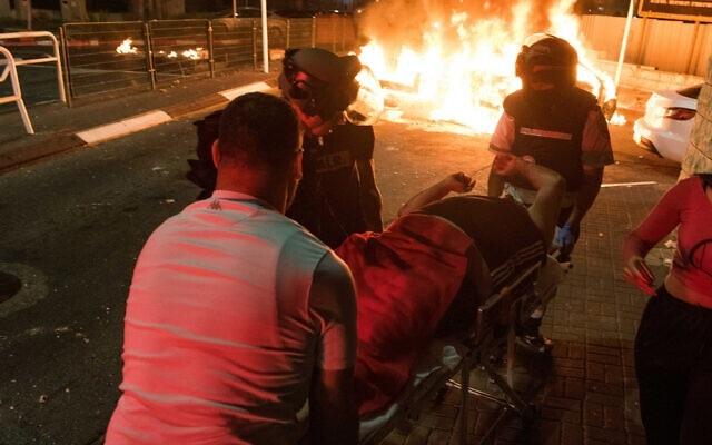 """Bạo loạn nổ ra khắp Israel giữa lúc """"chảo lửa"""" Gaza nóng rực"""