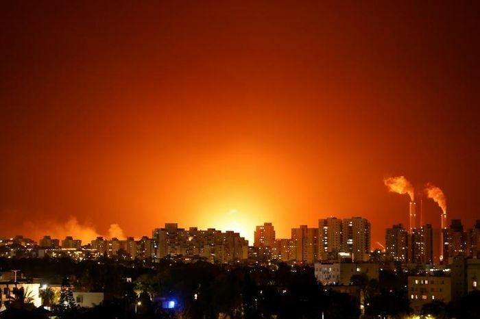 """Căng thẳng Israel – Palestine: Hiện trường đổ nát sau các cuộc không kích """"trả đũa"""" ở dải Gaza"""
