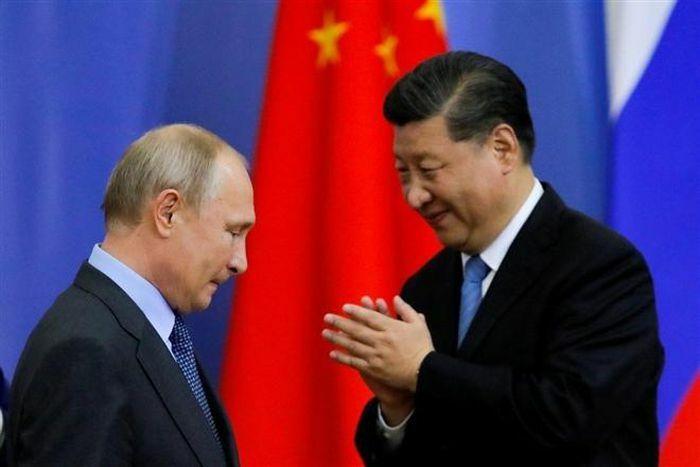 Ông Tập Cận Bình hội đàm với ông Putin