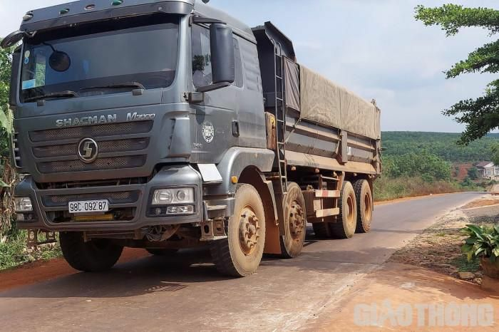 Sở GTVT Đắk Lắk đề nghị xử nghiêm vấn đề xe quá tải Báo Giao thông phản ánh