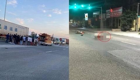 Làm rõ nguyên nhân nam thanh niên tử vong cạnh xe máy trên quốc lộ