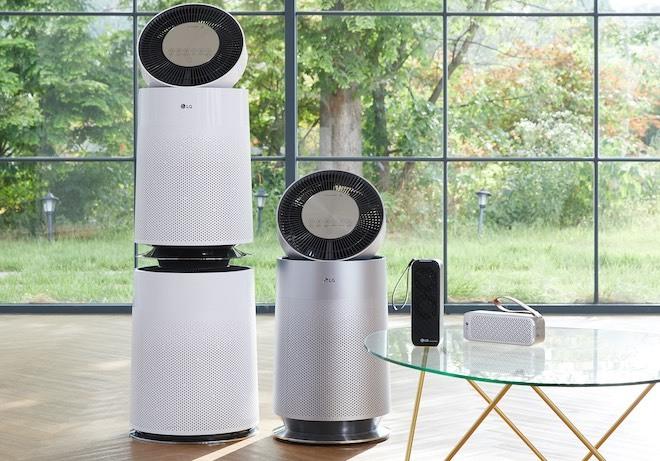 """LG ra mắt máy lọc không khí PuriCare 360 độ, """"bắt"""" được bụi siêu mịn PM1.0"""