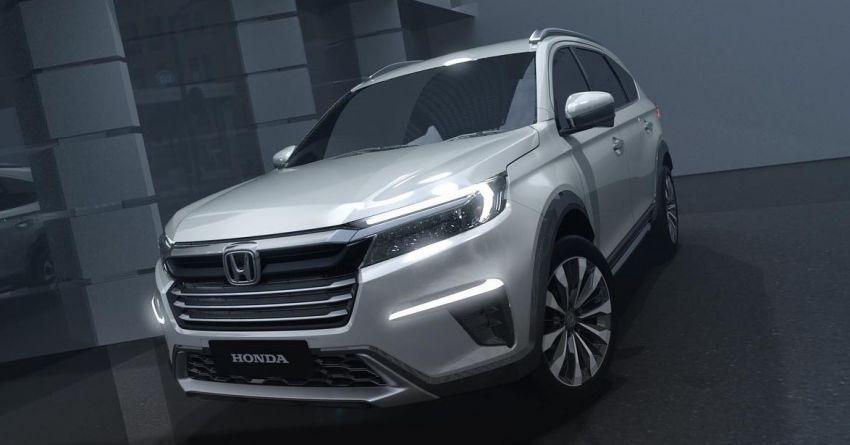 Lộ diện xe SUV 7 chỗ mới của Honda có thể dành cho thị trường Việt Nam