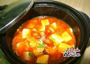 Ăn cơm ngon miệng với món đậu hũ sốt thịt