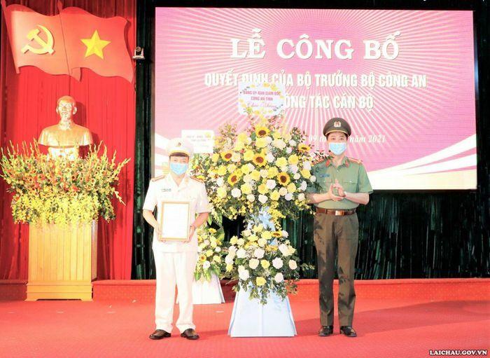 Đồng chí Sùng A Súa làm Phó Giám đốc Công an tỉnh Lai Châu