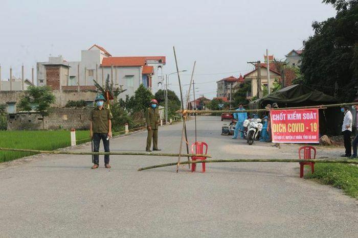 Hà Nam cách ly hai khu vực dân cư tại xã Bắc Lý và Chân Lý