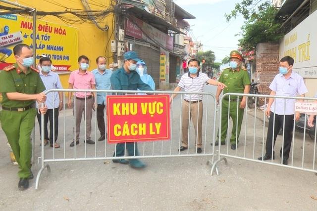 Hà Nội: Dỡ phong tỏa tạm thời, thiết lập giãn cách xã hội xã Tô Hiệu