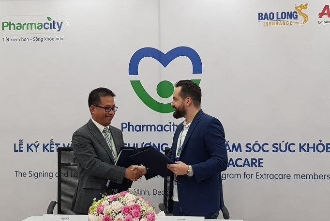 Pharmacity bắt tay Bảo Long cung cấp gói dịch vụ chăm sóc sức khỏe cho từng cá nhân