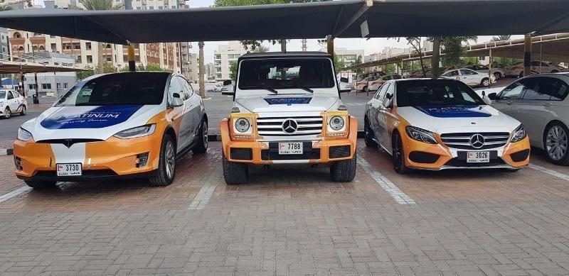'Choáng' với dàn xe sang tập lái ở Dubai