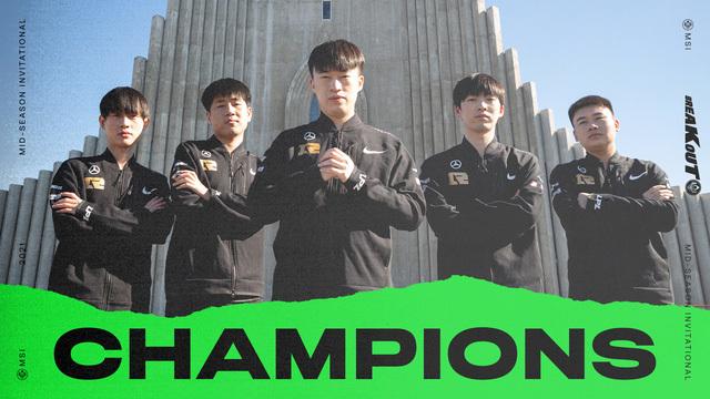 Những thống kê thú vị đằng sau chức vô địch MSI 2021 của RNG: Người Trung Quốc thống trị tuyệt đối