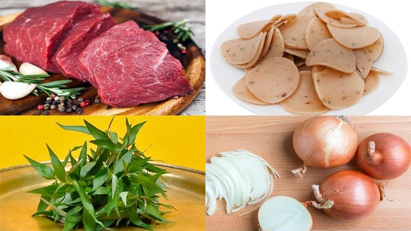 Làm món gỏi bò rau răm thơm ngon lạ miệng thịt bò mềm không bị dai - ảnh 1