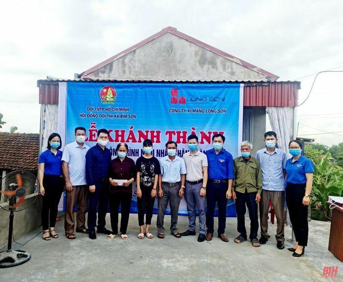 Thị xã Bỉm Sơn khành thành ''Ngôi nhà khăn quàng đỏ'' cho học sinh có hoàn cảnh khó khăn - ảnh 1