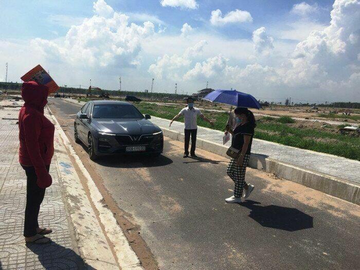 Mở rộng 13 tuyến đường hẹp trong Khu tái định cư sân bay Long Thành - ảnh 1