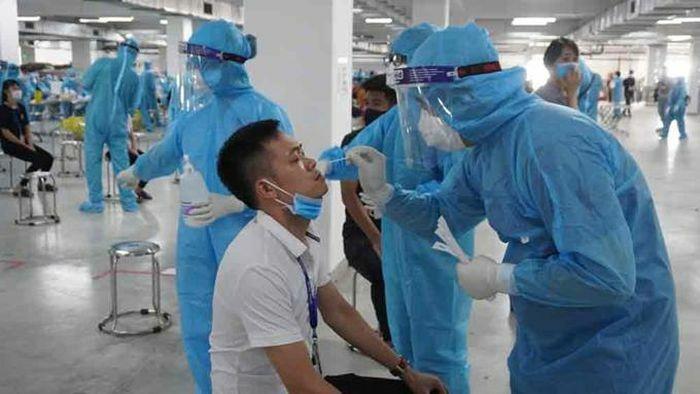 Bắc Giang đã có 3.241 ca mắc Covid-19, riêng khu công nghiệp Quang Châu 2.608 ca - ảnh 1