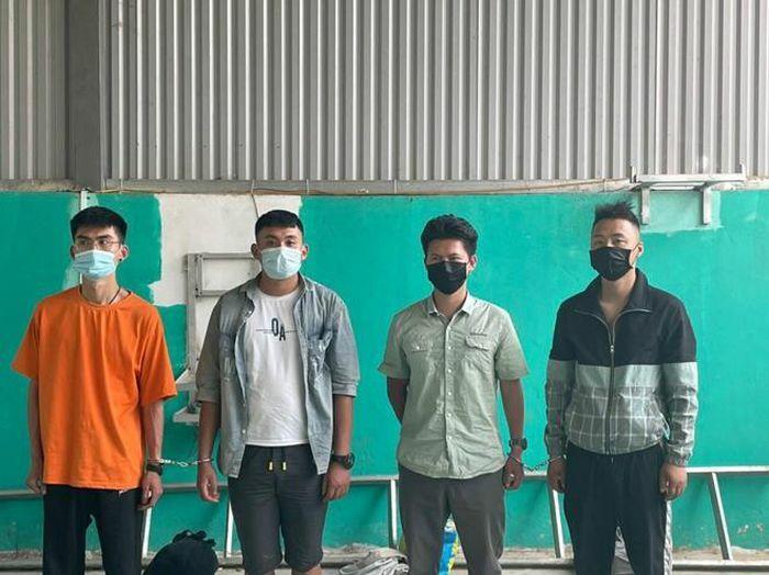 Bắt giữ 4 công dân Trung Quốc nhập cảnh trái phép