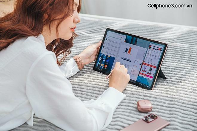 Những lý do nên chọn Galaxy Tab S7+ để làm việc tại nhà - ảnh 1
