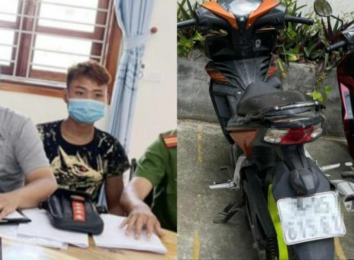 Bắt đối tượng trộm cắp xe máy ở Hà Nội đi hơn 500km về quê để tiêu thụ - ảnh 1