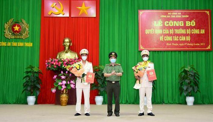 Trưởng Công an cửa khẩu CHK quốc tế Tân Sơn Nhất, giữ chức Phó Giám đốc Công an tỉnh Bình Thuận - ảnh 1