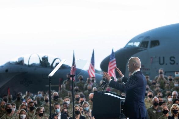 Màn ra mắt của ông Biden - ảnh 1