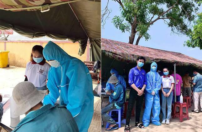 Sinh viên Điều dưỡng ĐH Duy Tân tình nguyện trực chốt kiểm dịch COVID-19 - ảnh 1