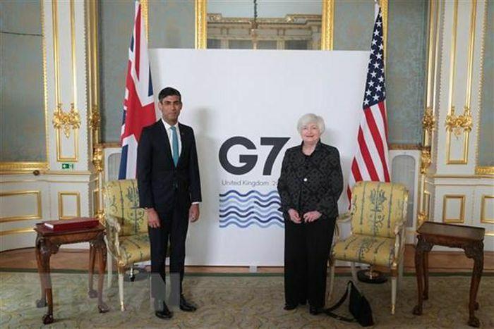 G7 nhất trí mức thuế doanh nghiệp toàn cầu tối thiểu là 15%
