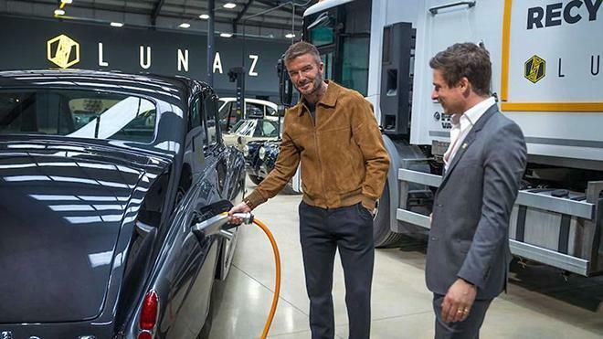 David Beckham rót tiền vào hãng xe điện hóa đặc biệt - ảnh 1