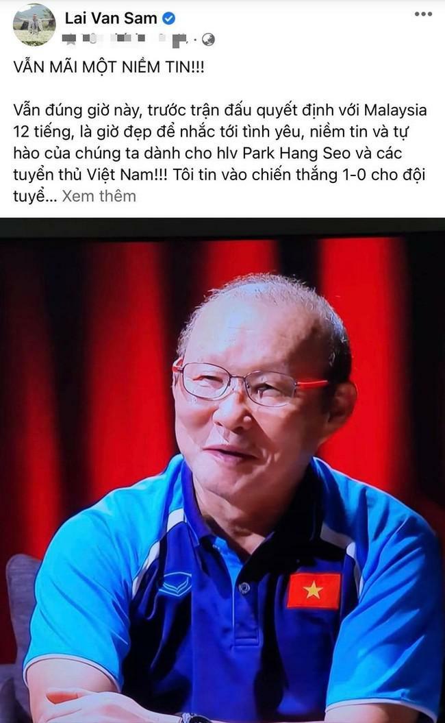 MC Lại Văn Sâm dự đoán trận Việt Nam - Malaysia vẫn không quên