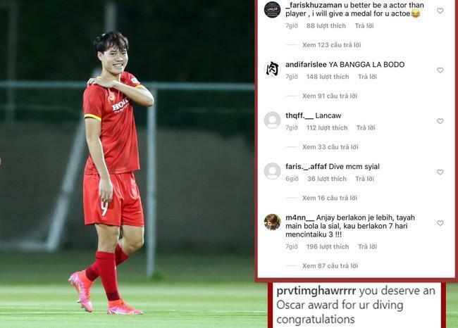 Văn Toàn tung thêm bằng chứng bị cầu thủ Malaysia phạm lỗi tinh vi - ảnh 1