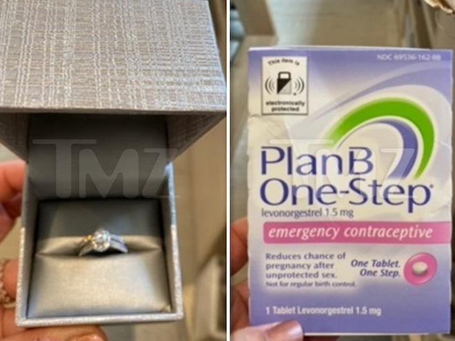 """Kim """"siêu vòng 3″ được 1 người đàn ông gửi nhẫn kim cương hột mít kèm… vỉ thuốc tránh thai đến tận nhà, chuyện gì đây? - ảnh 1"""