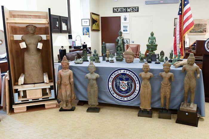 Mỹ trả 27 cổ vật cho Campuchia, trị giá gần 4 triệu USD - ảnh 1