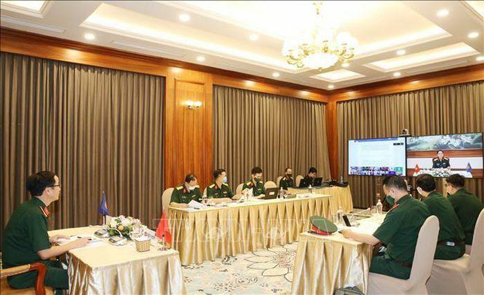 Hội nghị Nhóm làm việc quan chức Quốc phòng cấp cao ASEAN mở rộng - ảnh 1