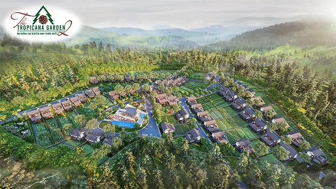 Bất động sản sinh thái Bảo Lộc: Dấu ấn biệt thự sinh thái