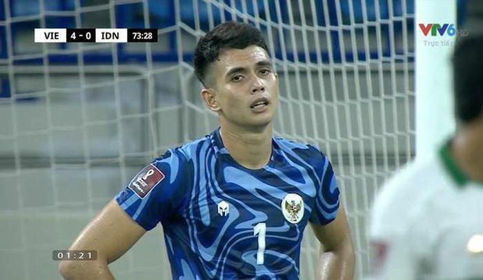 Thua đội tuyển Việt Nam, thủ môn Indonesia bỗng ''sáng nhất'' MXH - ảnh 1