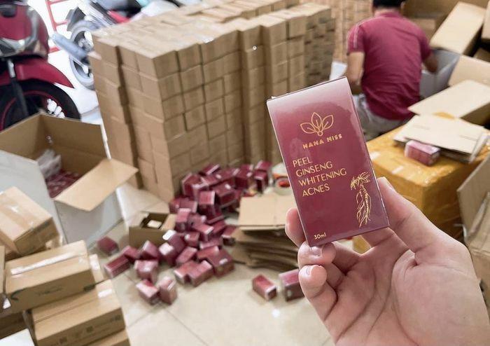 Thu giữ 90 thùng mỹ phẩm không rõ nguồn gốc, xuất xứ tại Cty TNHH Hana Miss - ảnh 1