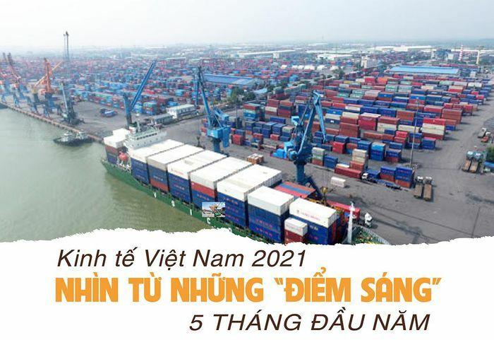 Kinh tế Việt Nam 2021 nhìn từ những ''điểm sáng'' 5 tháng đầu năm - ảnh 1